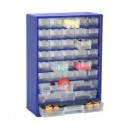 Regalik szuflad.-metalowy 9-30E-4B-1C